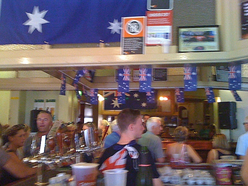 Australia Day in The Rocks, 2013. Photo copyright Robert Sullivan!
