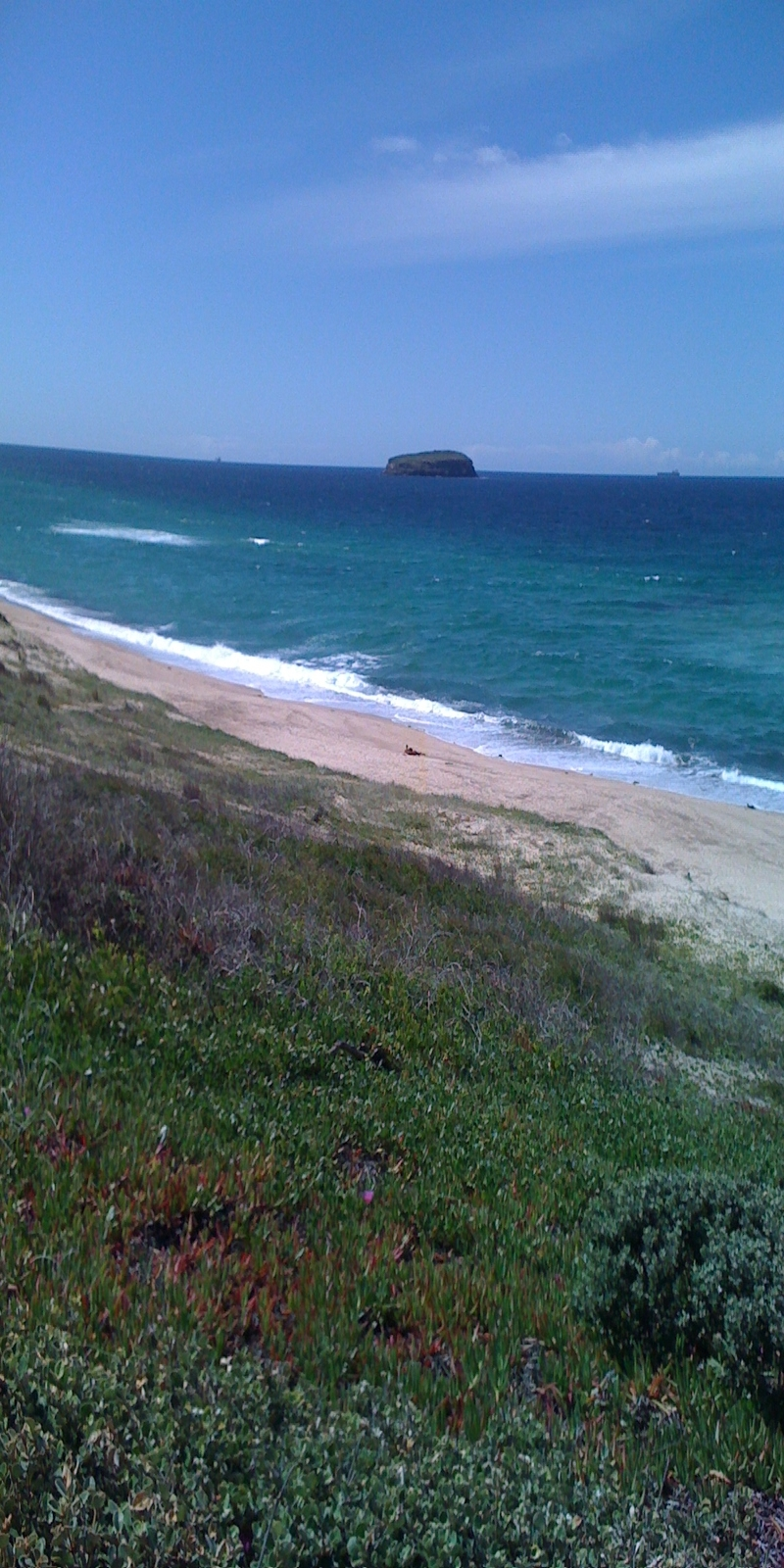 Island off Lakes Beach on the NSW Central Coast, south of Newcastle, north of Sydney, on the Australian Coastal Walk!