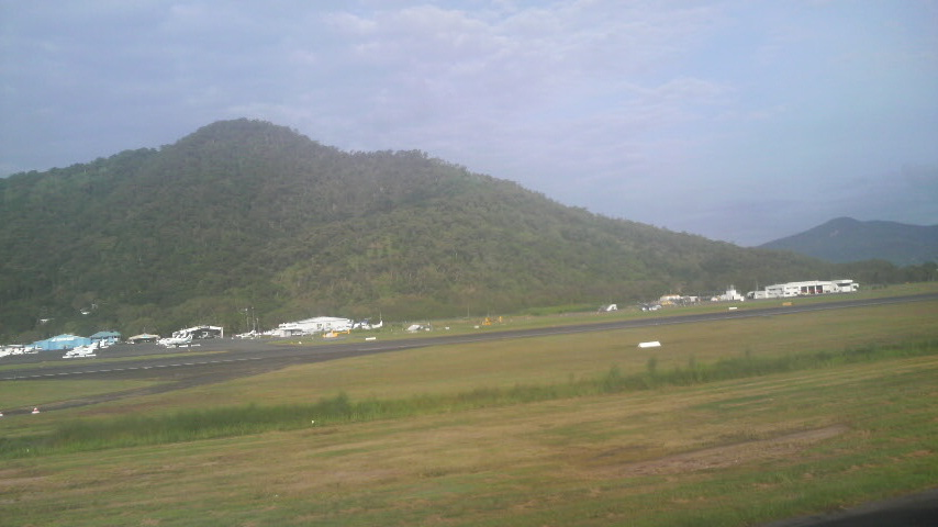 Landing in the tropical sanctuary of Cairns, in northern Australia, after fleeing apocalyptic disaster in Japan.