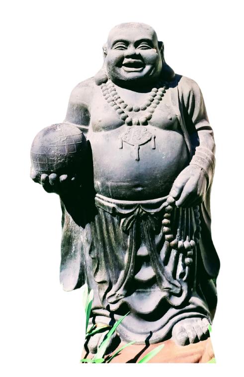 Nude Buddha, courtesy of Canva