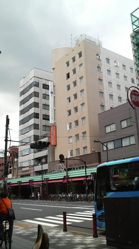 Unizo Inn, right next to Kaminarimon Gate in Asakusa!