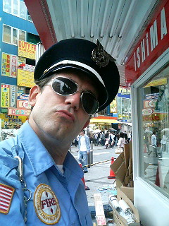 Maniac High outside the Ishimaru Department store in Akihabara