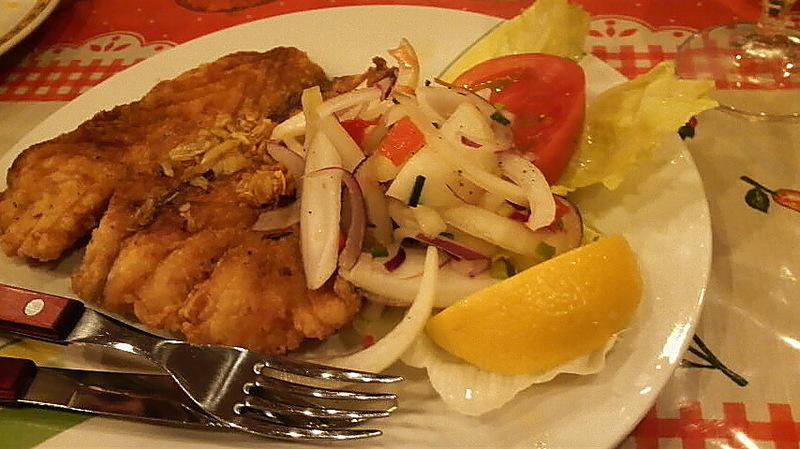Peruvian fish dish