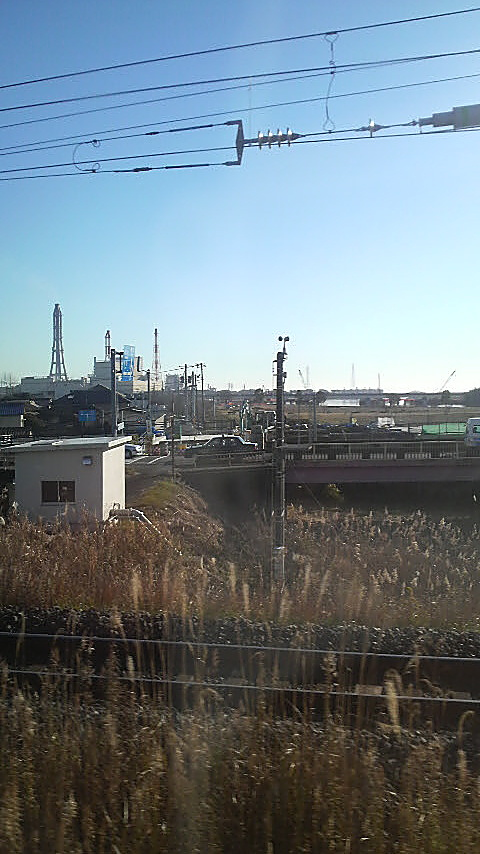 A nuclear power plant I passed on my trip to Iwaki Onsen, Fukushima Prefecture, with my buddy Ken Anazawa late 2010