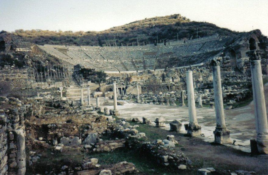 Ruins of Ephesus, in Turkey