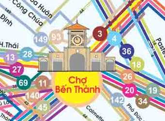 The transport hub of HCMC!