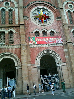 Cathedral (or Basilica) of Notre-Dame, the heart of Ho Chi Minh City's Catholic faith