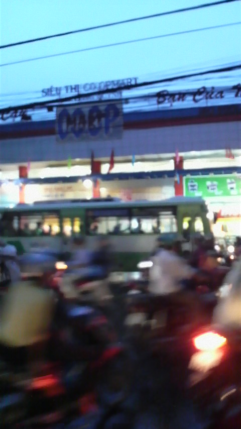 Coop supermarket on Cong Quynh Street in District 1, Ho Chi Minh City