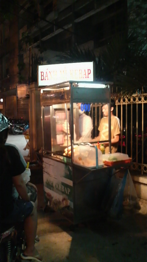 Kebab stand in HCMC Q.1