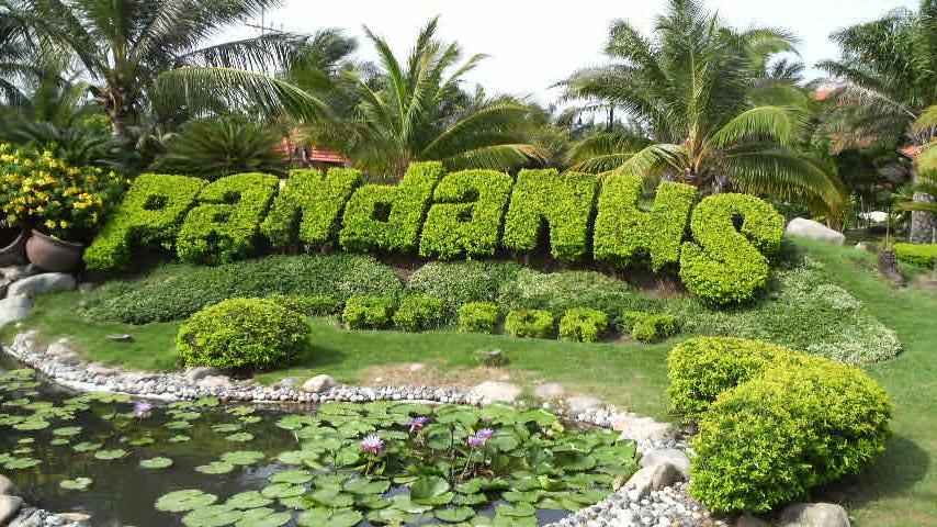 Pandanus Resort at Mui Ne north of Mui Ne, one of the many beautiful spas in Vietnam